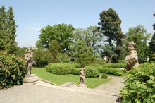 Park u zámku Náměšť na Hané