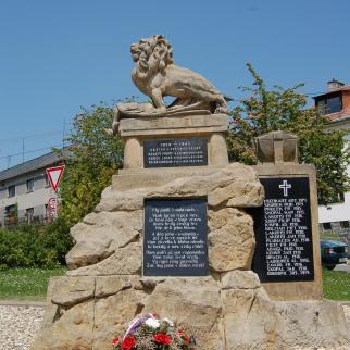 Pomník obětem světových válek ve Vilémově
