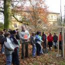 2009 Sázení stromů v Arboretu Bílá Lhota