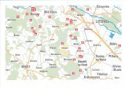 Mapa studánek